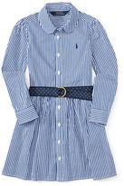 Ralph Lauren Girls 7-16 Little Girl's & Girl's Bengal Shirt Dress