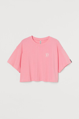 H&M Wide-cut Jersey Top