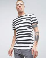 Cheap Monday Standard Edge T-shirt Odd Stripe