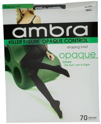 Ambra Killer Figure Opaque Tights Black