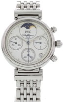 IWC Schaffhausen Da Vinci 3736 Chronograph Moonphase Stainless Steel 29mm Womens Watch