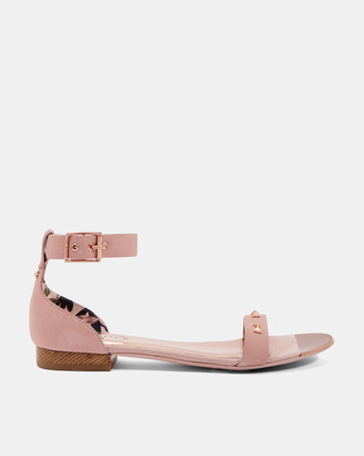 Ted Baker OVEYN Studded bow leather sandals