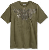 Sean John Men's Studded Arc Eagle Graphic-Print T-Shirt