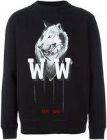 Off-White wolf print sweatshirt