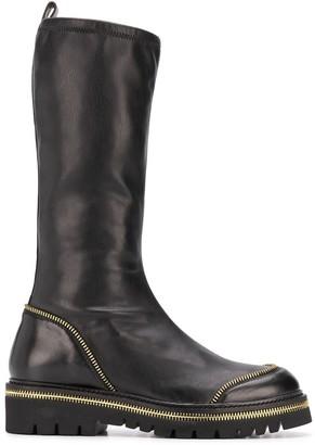 Steffen Schraut Zip-Around Mid-Calf Boots