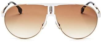 Carrera Men's Aviator Shield Sunglasses, 70mm