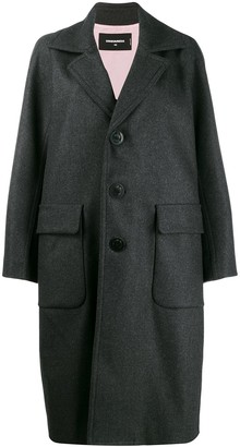 DSQUARED2 Wide Lapel Coat