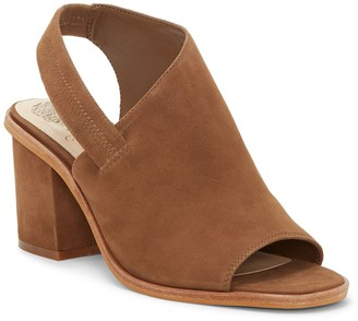 Vince Camuto Kailsy Suede Block Heel Sandal