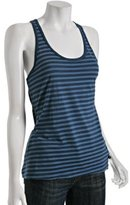 bluebell striped 'Edith' racerback tank