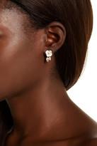 Betsey Johnson Bee Ear Cuff & Flower Stud Earrings
