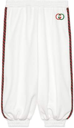 Gucci Children's technical jersey trousers