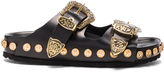 Fausto Puglisi Studded Leather Sandals