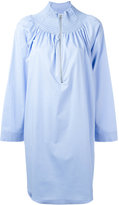 Cédric Charlier shirt dress - women - Cotton/Other fibres - 42