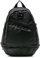 Yohji Yamamoto Logo Backpack