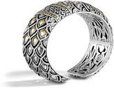 John Hardy Women's Legends Naga 25MM Kick Cuff in Sterling Silver and 18K Gold