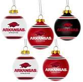NCAA 5pk Shatterproof Ball Ornaments