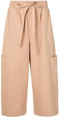 Lee Mathews Kei pocket cropped trousers