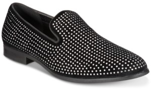 INC International Concepts Inc Men's Wyatt Crystal Loafers, Created for Macy's Men's Shoes