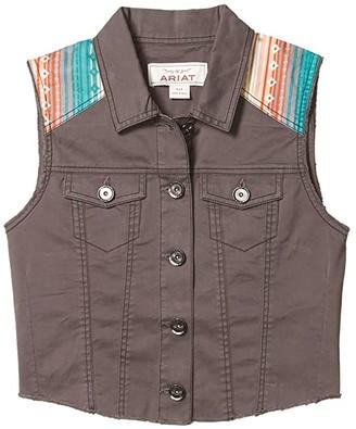 Ariat June Trucker Vest (Eiffel Tower) Women's Clothing