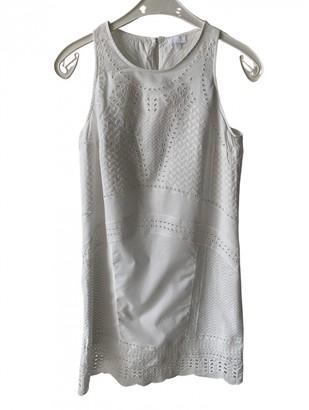Lala Berlin White Cotton Dresses