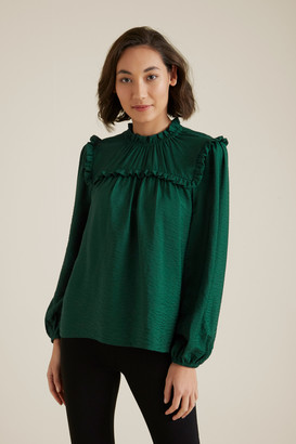 Seed Heritage Pretty Frill Blouse
