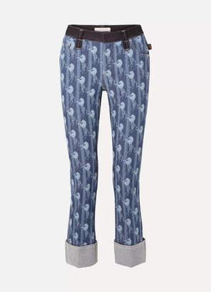 Chloé High-rise Straight-leg Jeans - Mid denim