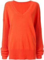 Dion Lee Corrugated ribbed knit sweater
