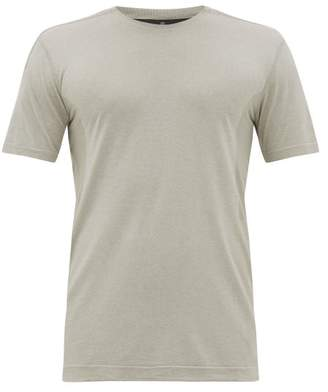 Reigning Champ Performance Mesh-panelled Jersey T-shirt - Mens - Grey