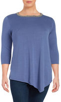 Context Plus Solid Roundneck Top