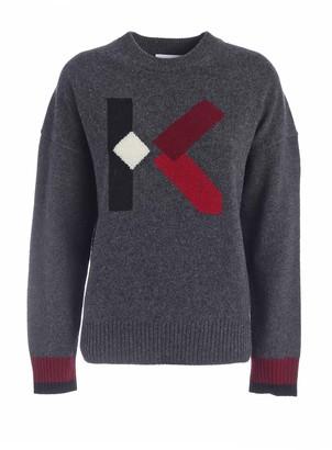 Kenzo K Pullover Gray