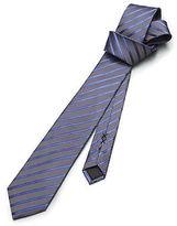 Kenneth Cole Two-Tone Diagonal Stripe Tie