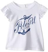 Ralph Lauren Jersey Whale Tee Girl's T Shirt