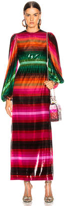 Valentino Stripe Dress in Multicolor | FWRD