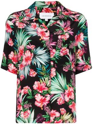 Les Rêveries Flower Print Shirt