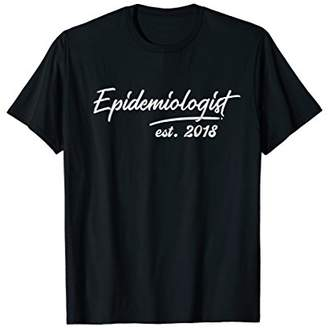 Graduation Gifts for Her His Him Epidemiologist 2018 T-Shirt