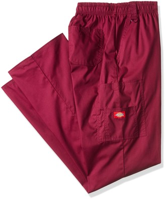 Dickies Men's Big EDS Signature Zip Fly Pull-on Scrub Pant