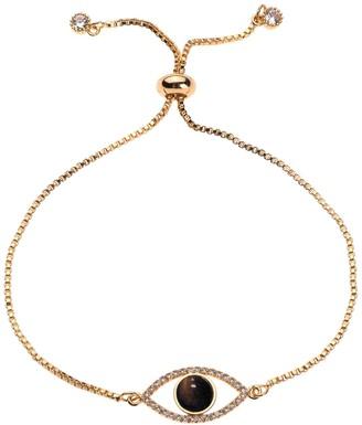 Nicole Miller Gold Evil Eye Bracelet
