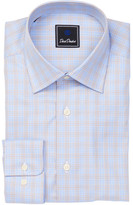 David Donahue Plaid Regular Fit Shirt