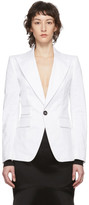 DSQUARED2 White Los Angeles Blazer
