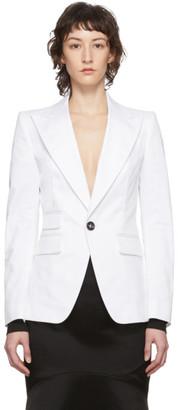 DSQUARED2 White Los Angeles Blazer