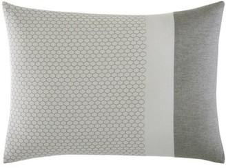 Vera Wang Tuille Floral Honeycomb Lumbar Pillow