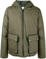 Etro padded hood coat