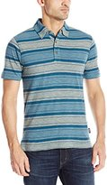 Woolrich Men's Between The Lines II Stripe Polo