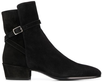 Saint Laurent Clementi buckle boots
