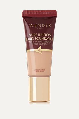 Wander Beauty Nude Illusion Liquid Foundation - Fair Light