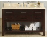 "Priva 48"" Open Bathroom Vanity Base Only Empire Industries Base Finish: Dark Cherry"