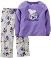 Carter's 2 Piece PJ Set (Toddler/Kid) - Teacup Mouse-6