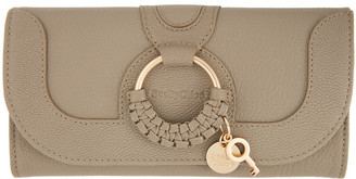 See by Chloe Taupe Hana Chain Wallet