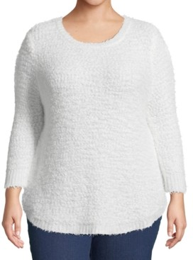 John Paul Richard Plus Size Pullover Sweater