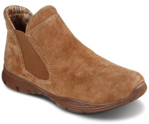 Skechers Women's Relaxed Fit: Bikers - Mc Sgr Chelsea Boots from Finish Line